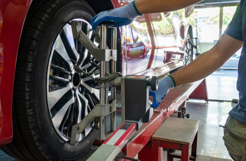 Doing tire alignments is not yet possible at Costco